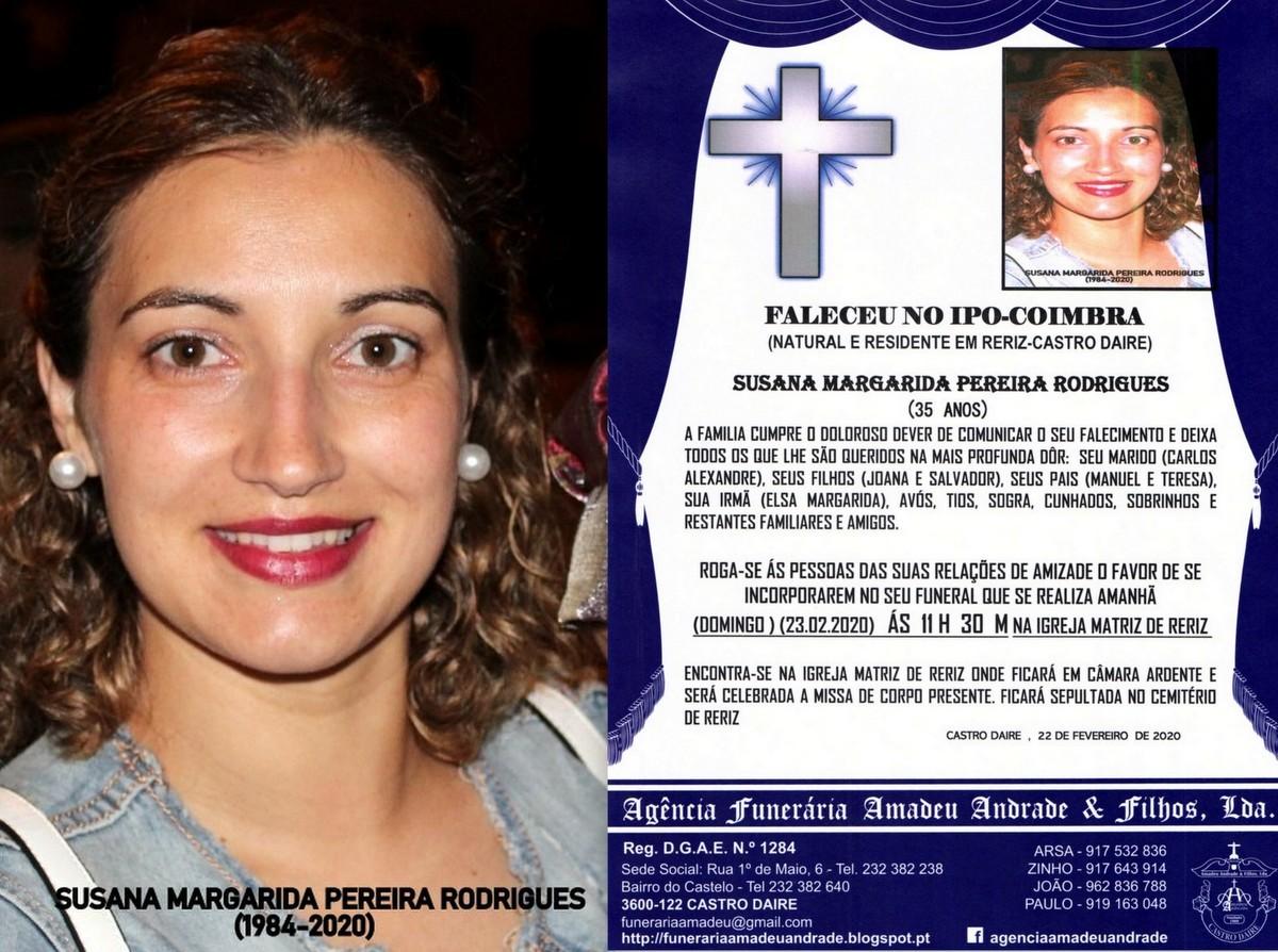 FOTO RIP-NOVA  DE SUSANA MARGARIDA PEREIRA RODRIGU