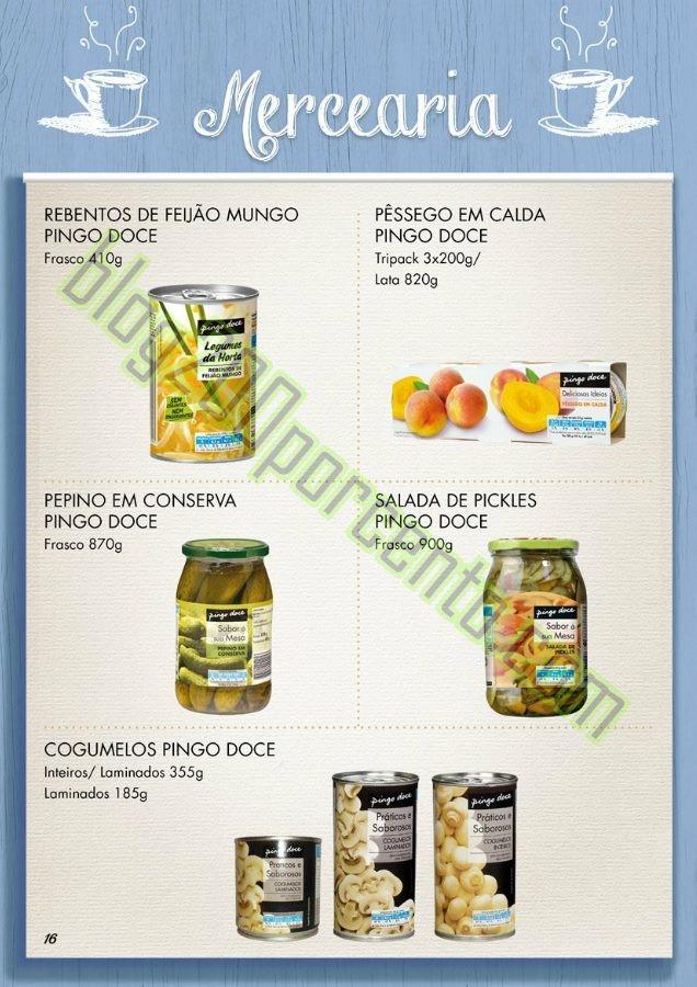 Novo Catálogo PINGO DOCE Sem Leite e Lactose 2016