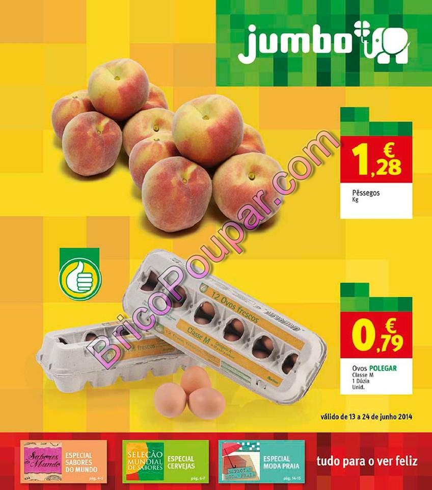 Antevisão Novo Folheto Jumbo - de 13 a 24 de junho