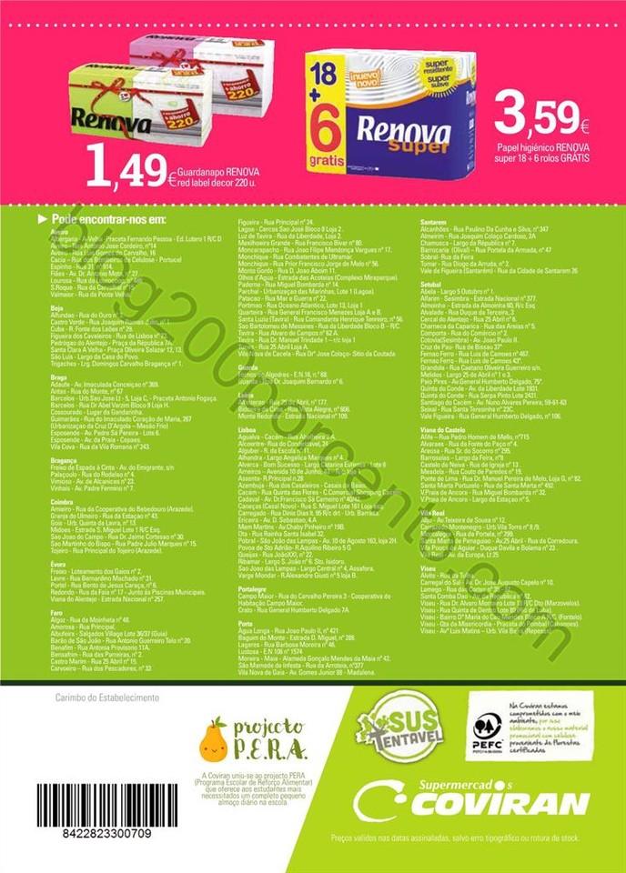 Antevisão folheto COVIRAN promoções de 19 abril
