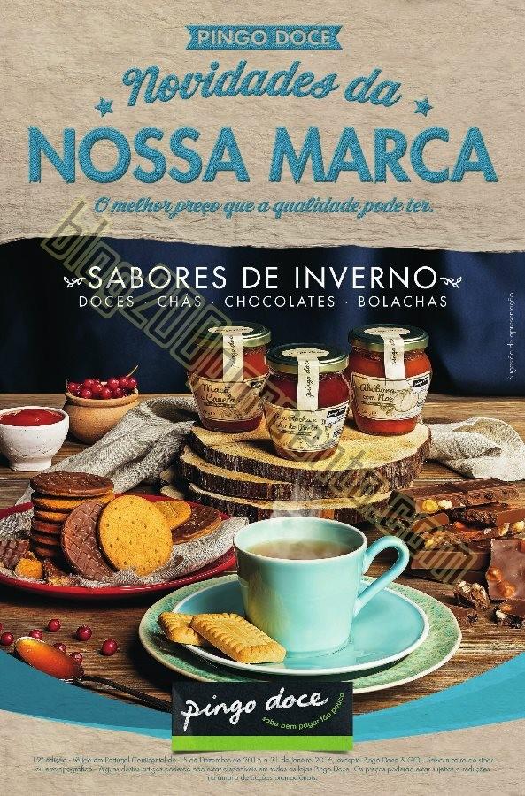 Novo Folheto PINGO DOCE Promoções até 31 janeir