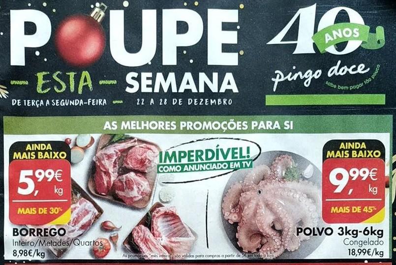 Antevisão Promoções Folheto Pingo Doce - de 22