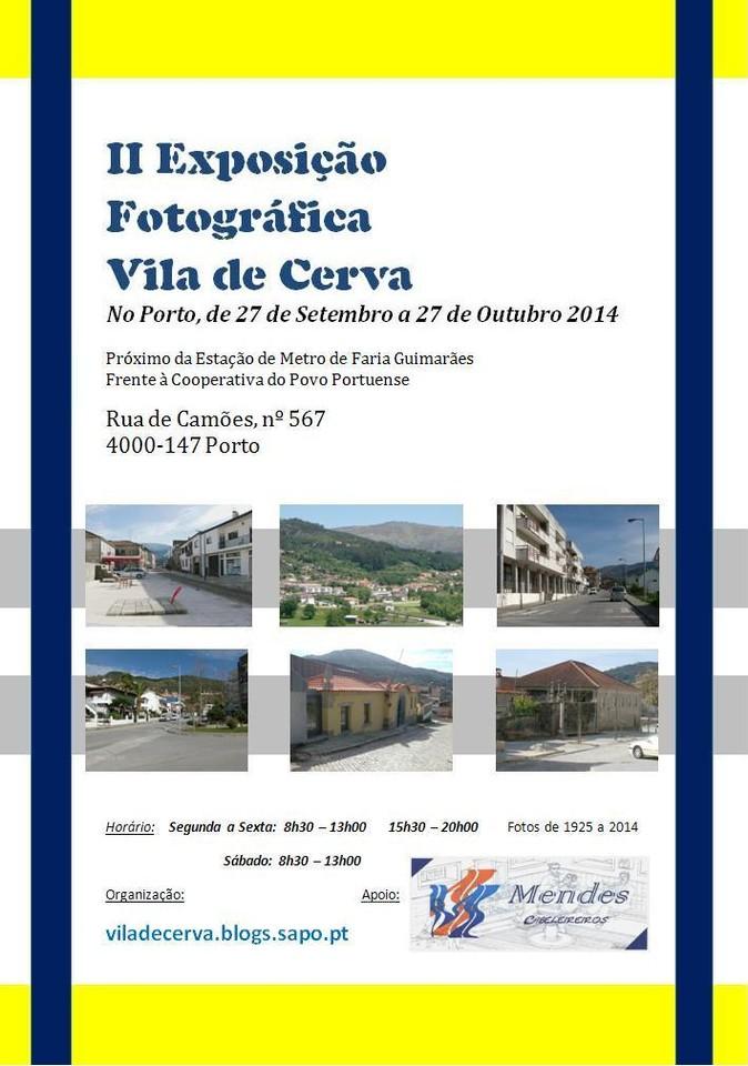 II Exposição fotográfica de Cerva