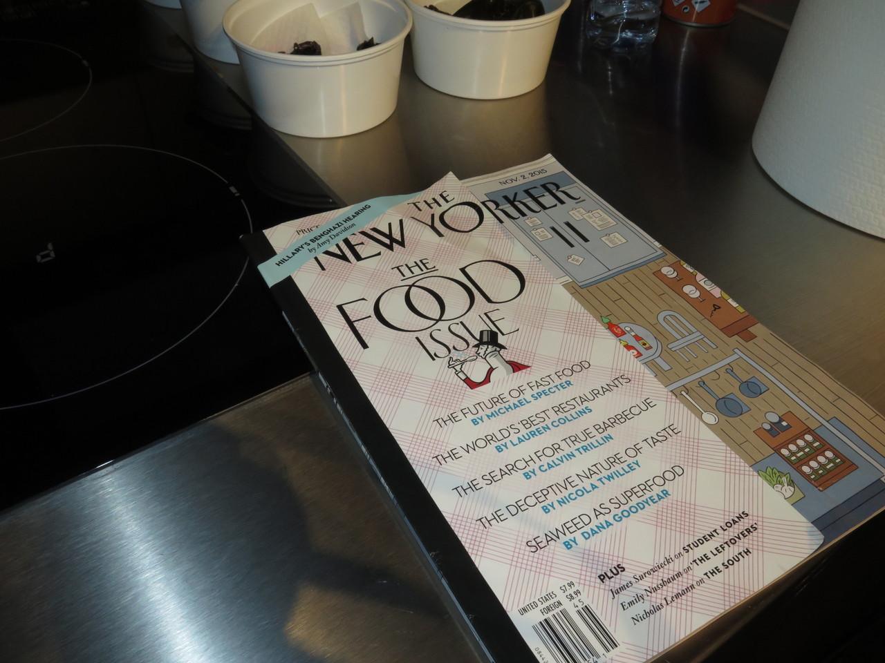 'Seaweed as Superfood', um texto inspirador no food issue da revista The New Yorker
