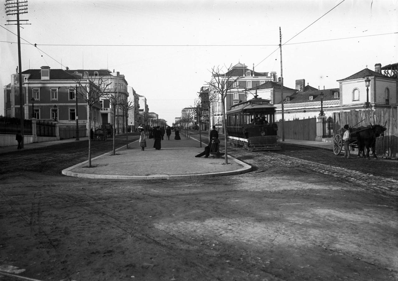 Av. Fontes Pereira de Melo, Lisboa (A.C. Lima, 1905-1908)