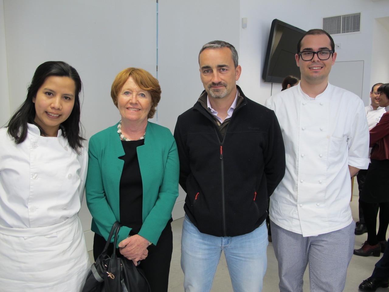 Vencedores com Sabine Blarel e Vincent Farges