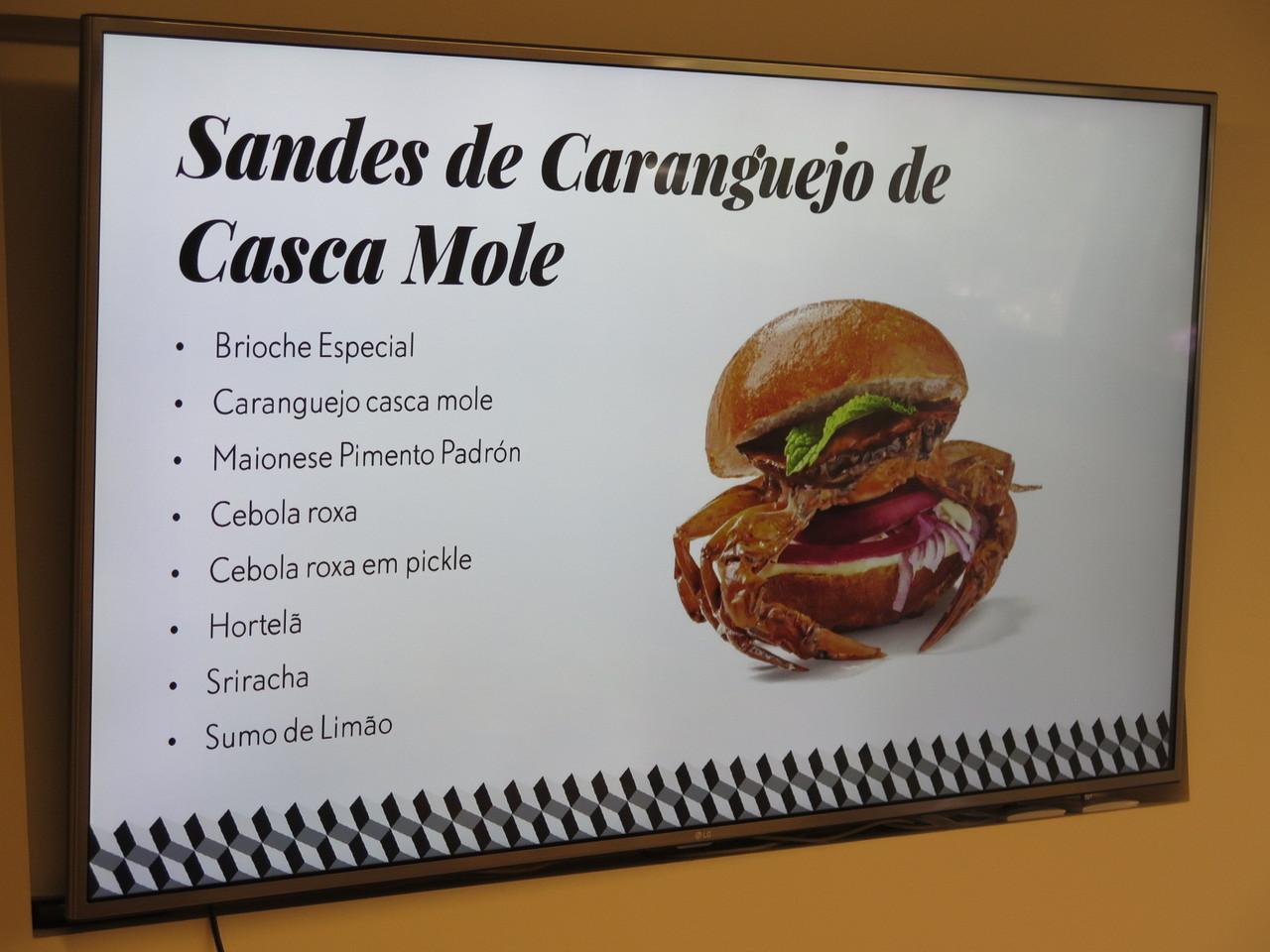 Sandes de Caranguejo de Casca Mole