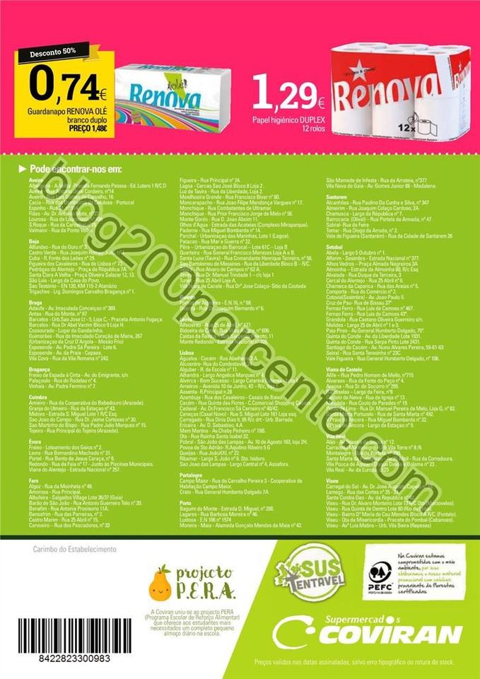 Antevisão Folheto COVIRAN Promoções de 17 a 29