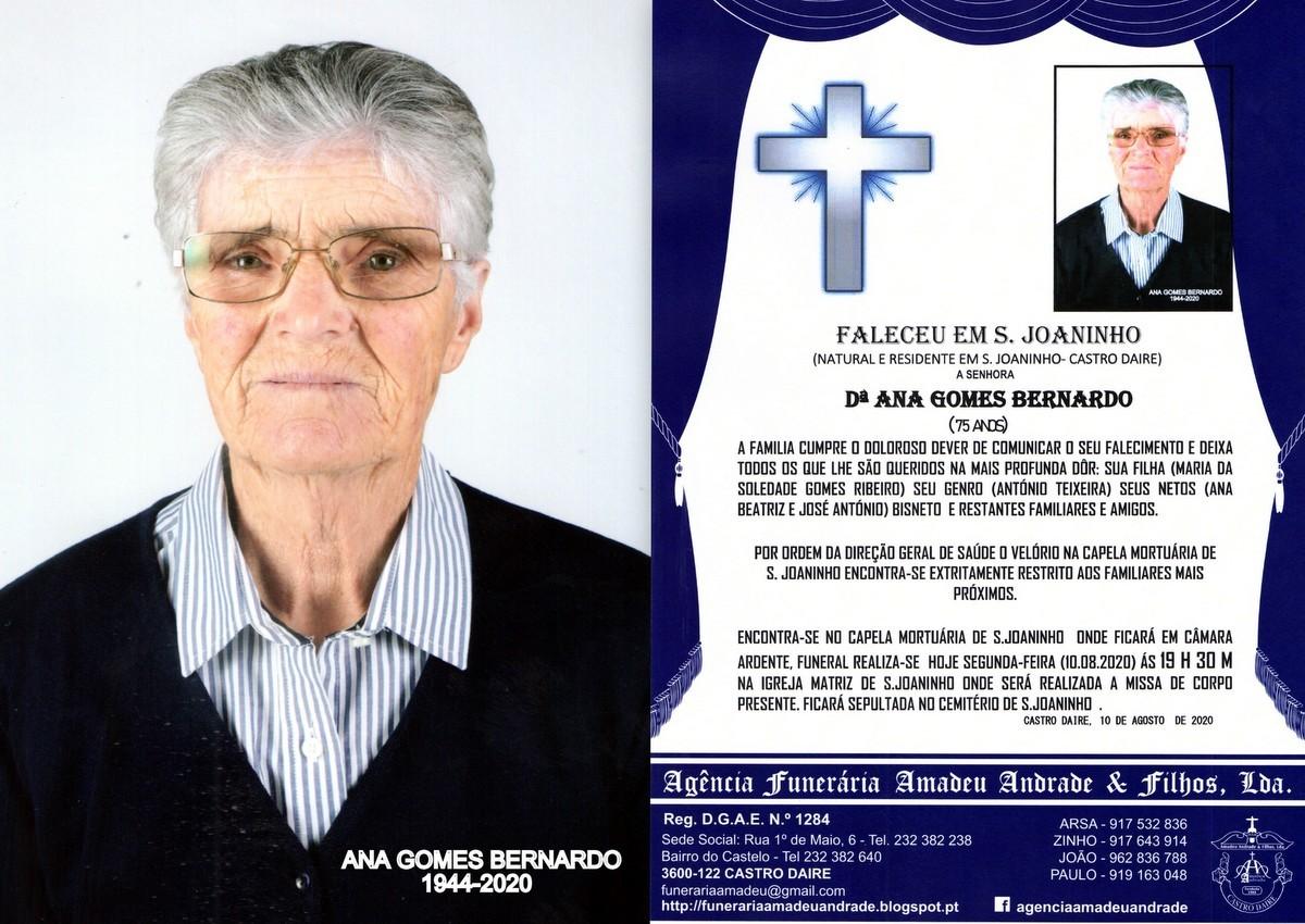 FOTO RIP DE ANA GOMES BERNARDO-75 ANOS (S.JOANINHO