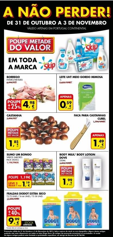 Extra Folheto | PINGO DOCE | até 3 novembro