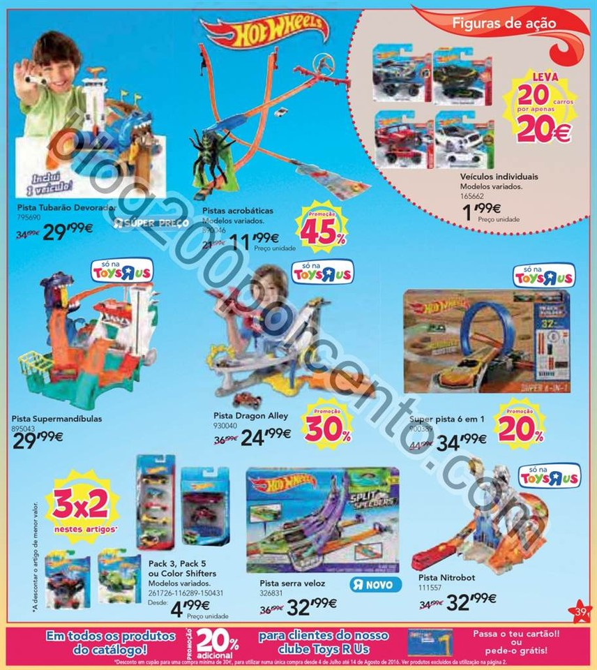 Novo Folheto TOYSRUS Promoções de 9 junho a 3 ju