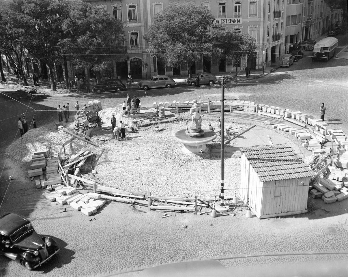 Obras do tanque do Neptuno, Estefânia (A. serôdio, 1951)
