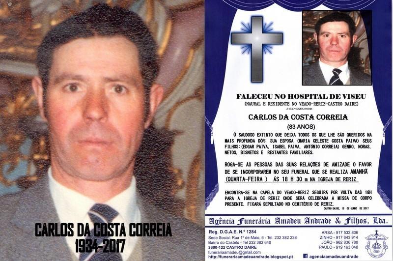 RIP2 FOTO-DO SR.CARLOS DA COSTA CORREIA-83 ANOS (3