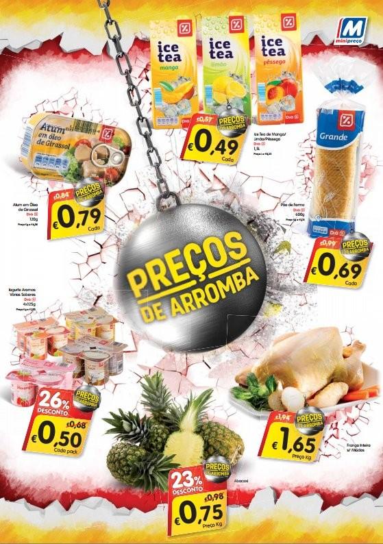 Preços de arromba   MINI PREÇO   de 10 a 23 janeiro