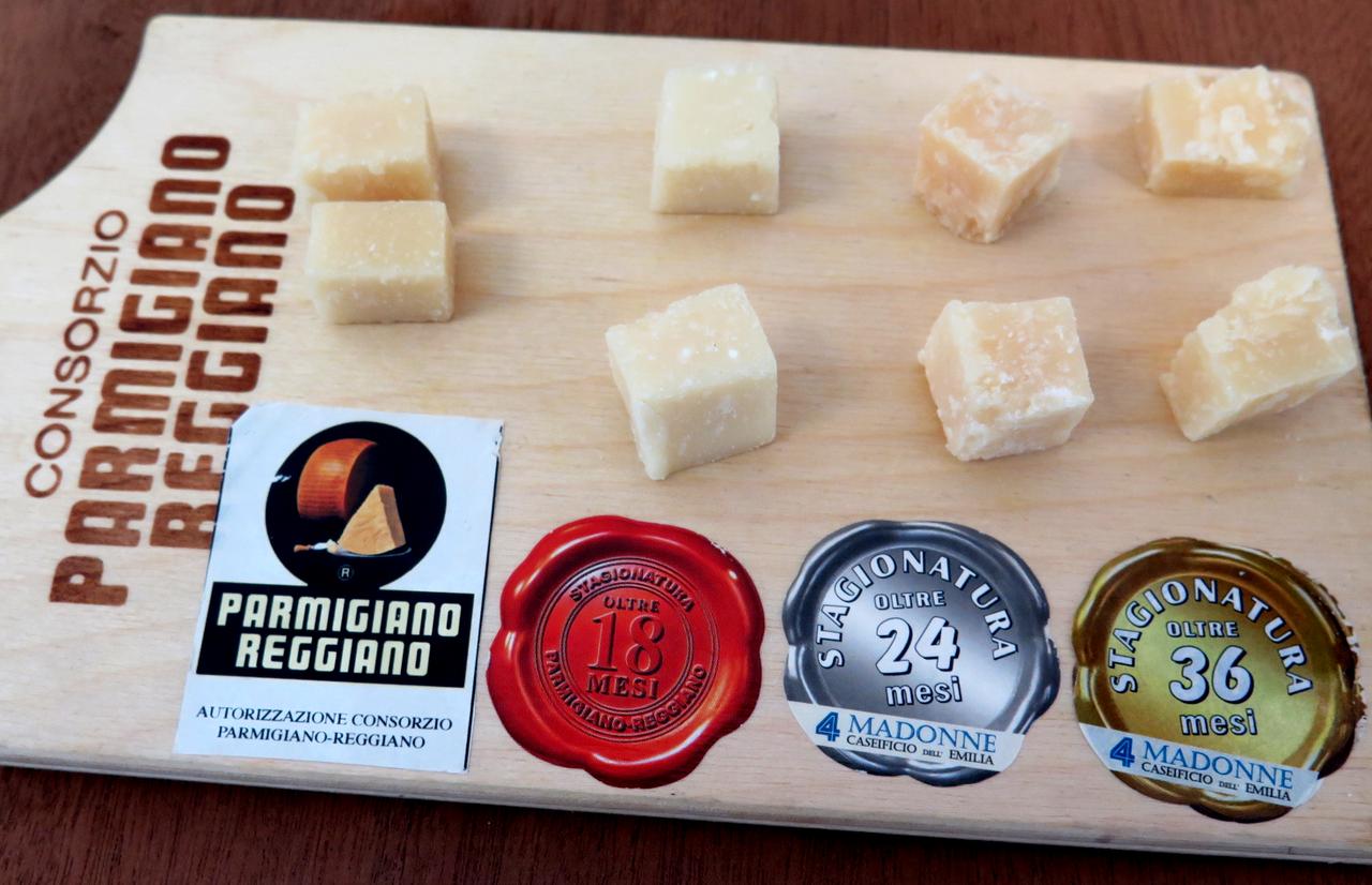 Prova vertical… de queijo Parmesão