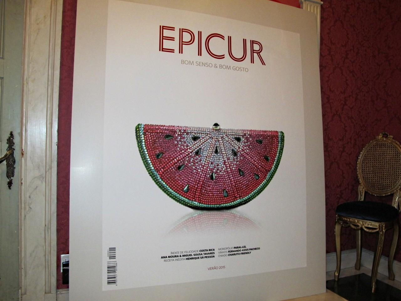 O primeiro número da nova EPICUR