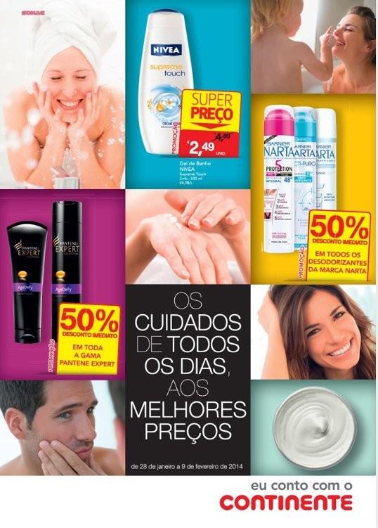 Novo folheto | CONTINENTE | Higiene