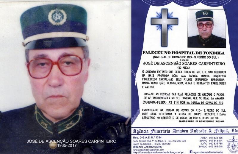 FOTO RIP- DE JOSÉ DE ASCENÇÃO SOARES CARPINTEIR