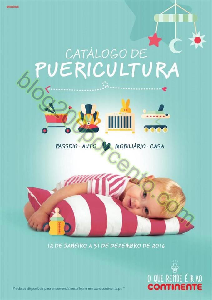 Catálogo Puericultura CONTINENTE promoções de 1