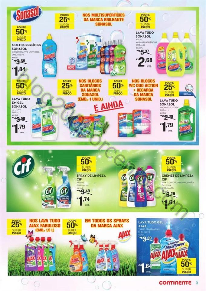 Antevisão Folheto CONTINENTE Limpeza de 12 a 24 j