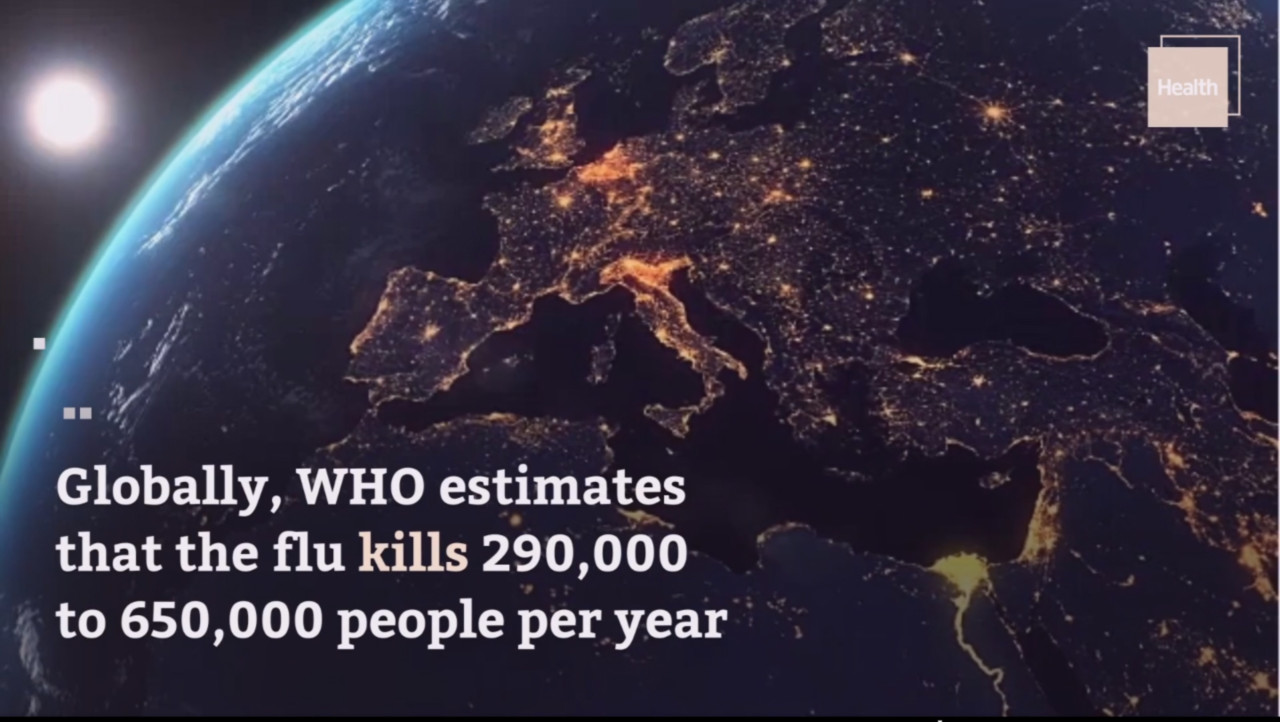 Cleire Gillespi, «This Is How Many People Die From the Flu Each Year, According to the CDC», in Exlpore Health, 11/II/2020