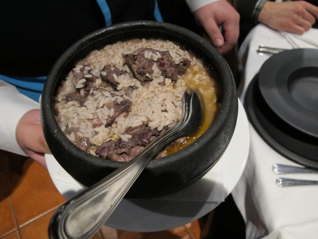 arroz de costelas