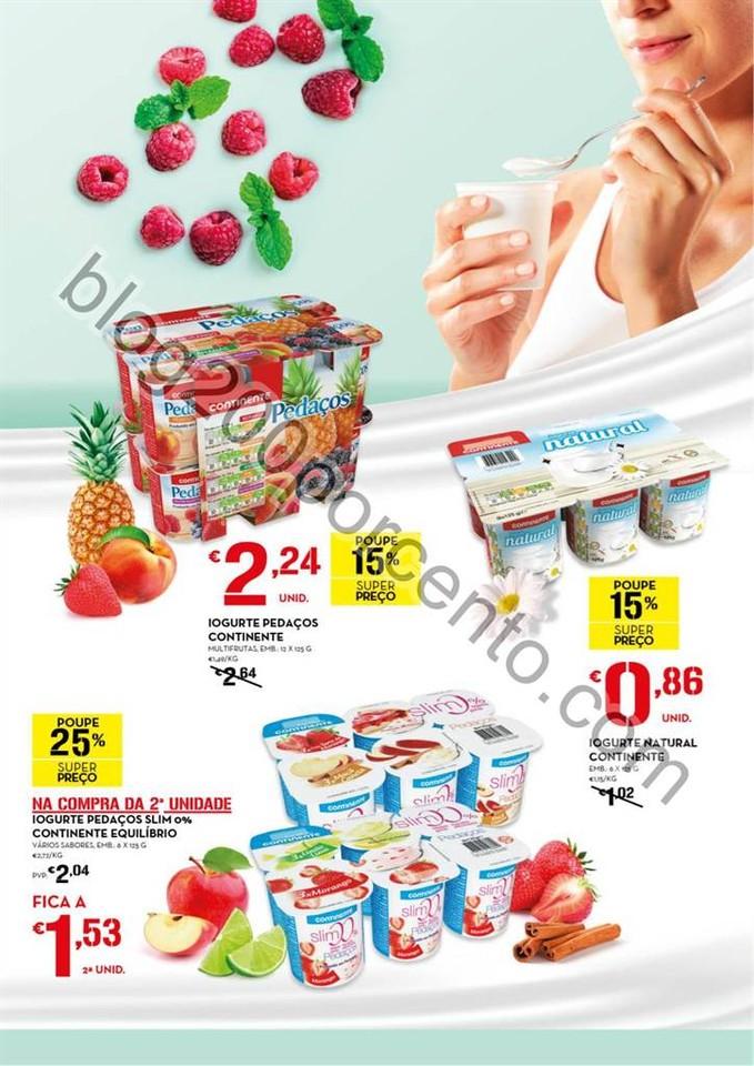 Novo Folheto CONTINENTE Especial Iogurtes de 14 ju