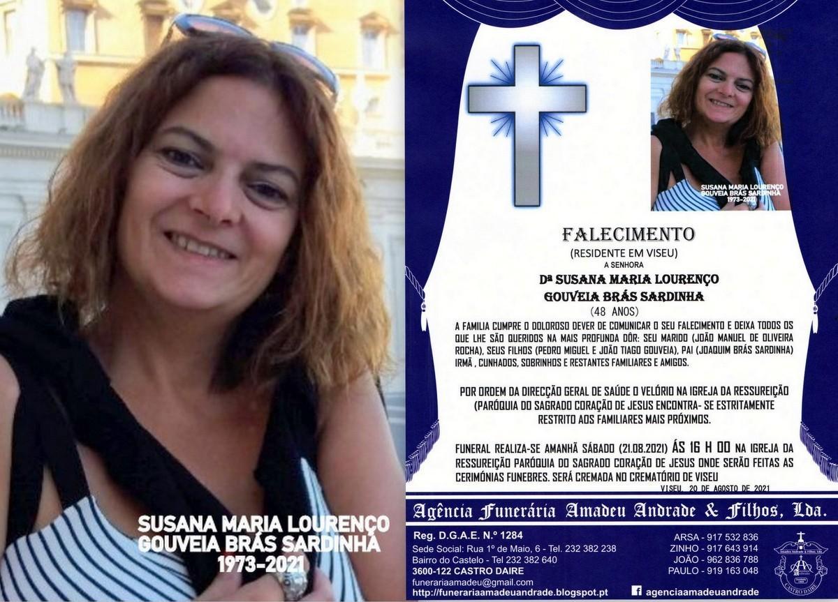 FOTO RIP  DE SUSANA MARIA LOURENÇO GOUVEIA BRÁS