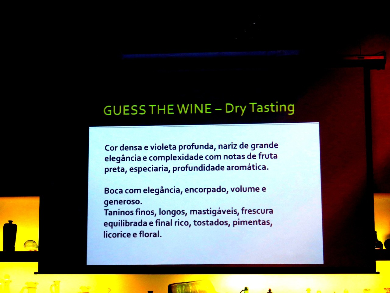 Guess the Wine – Dry Tasting