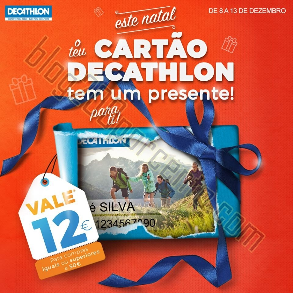 Oferta 12€ DECATHLON Natal de 8 a 13 dezembro.jp