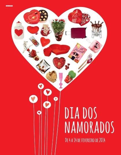 Novo Folheto   CONTINENTE   de 4 a 14 fevereiro - Dia dos Namorados