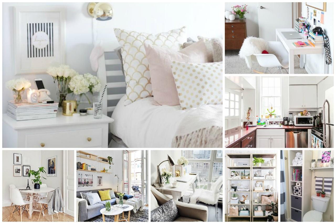 Como decorar e arrumar uma casa pequena moda e beleza Como decorar interiores de casas pequenas