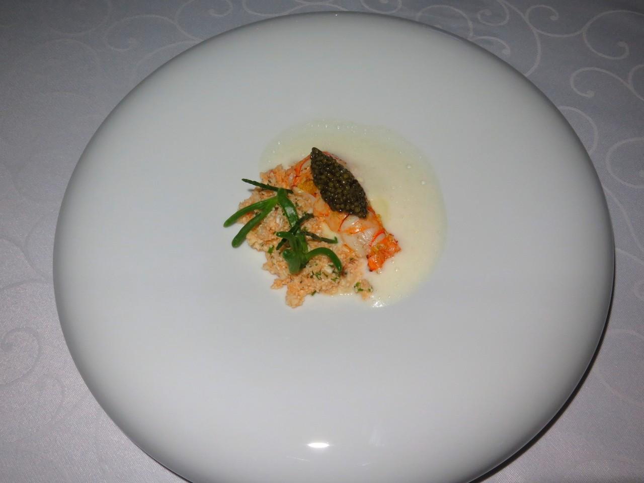 Lagostim, Couve-Flor, Caviar