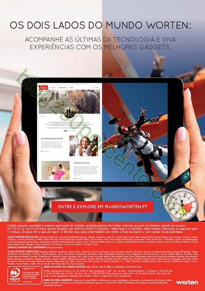 Novo Folheto WORTEN Promoções de 7 a 27 abril p