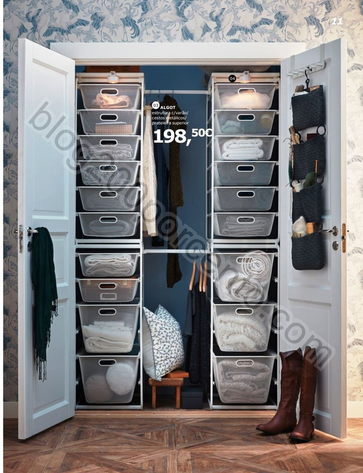 Antevisão Folheto IKEA Roupeiros promoções até
