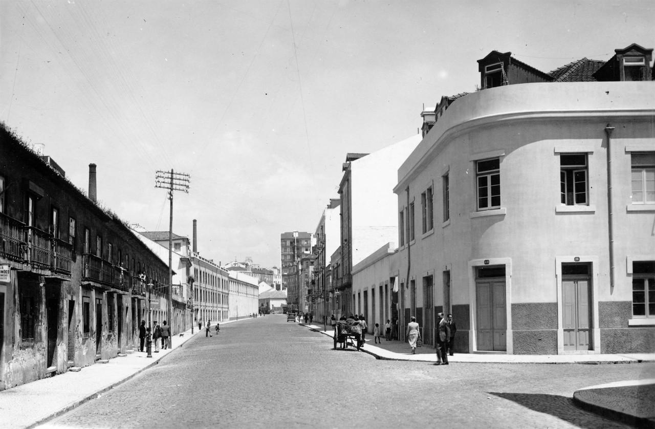 Rua de Arroios, Lisboa (E. Portugal, 1940; A.F.C.M.L., A10444)
