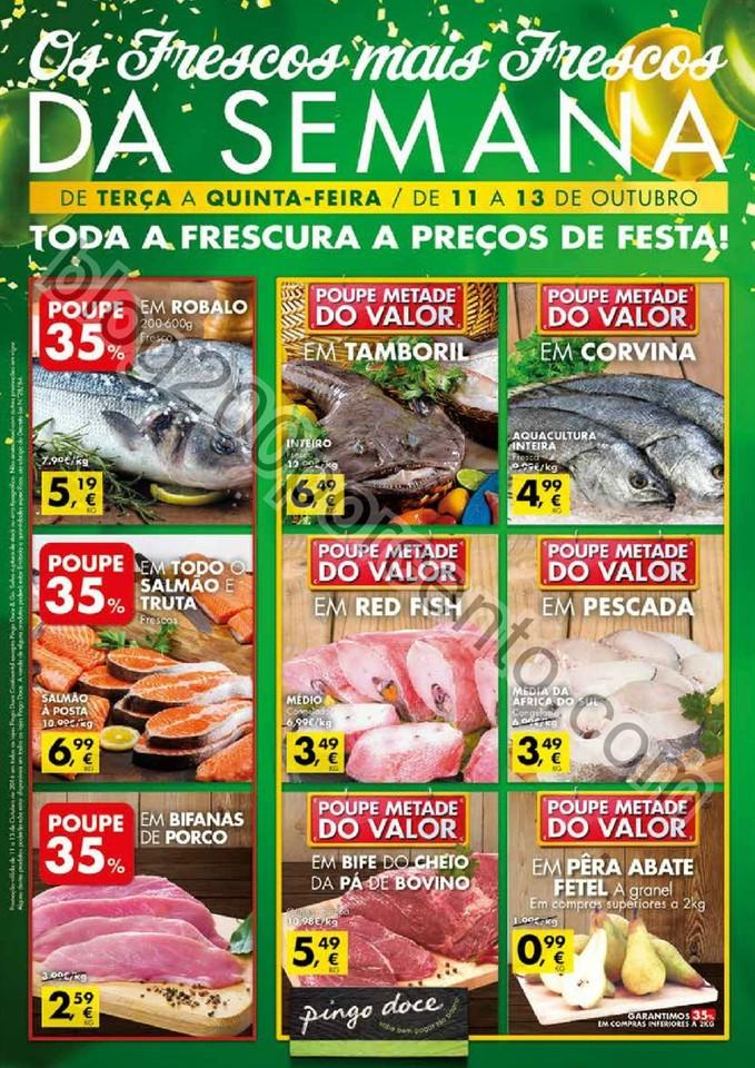 Antevisão Folheto PINGO DOCE Frescos promoções