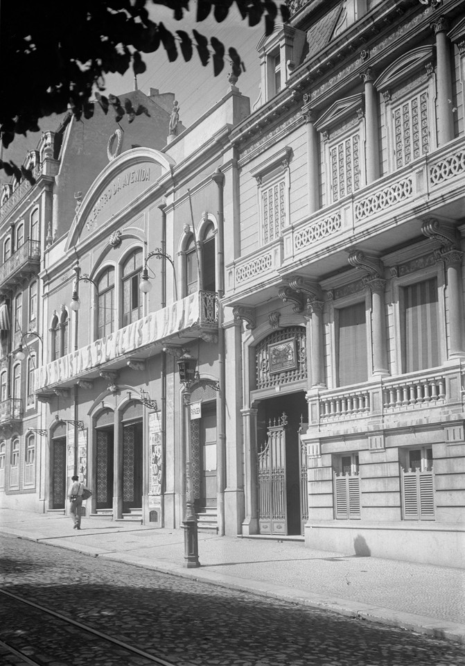 Theatro da Avenida, Lisboa (J. Benoliel, s.d.)