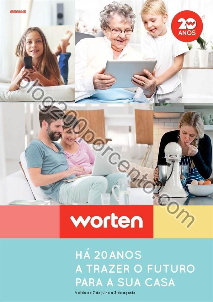 Novo Folheto WORTEN Lar promoções de 7 julho a 3
