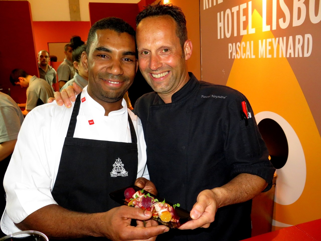 Carlos Cardoso e Pascal Meynard