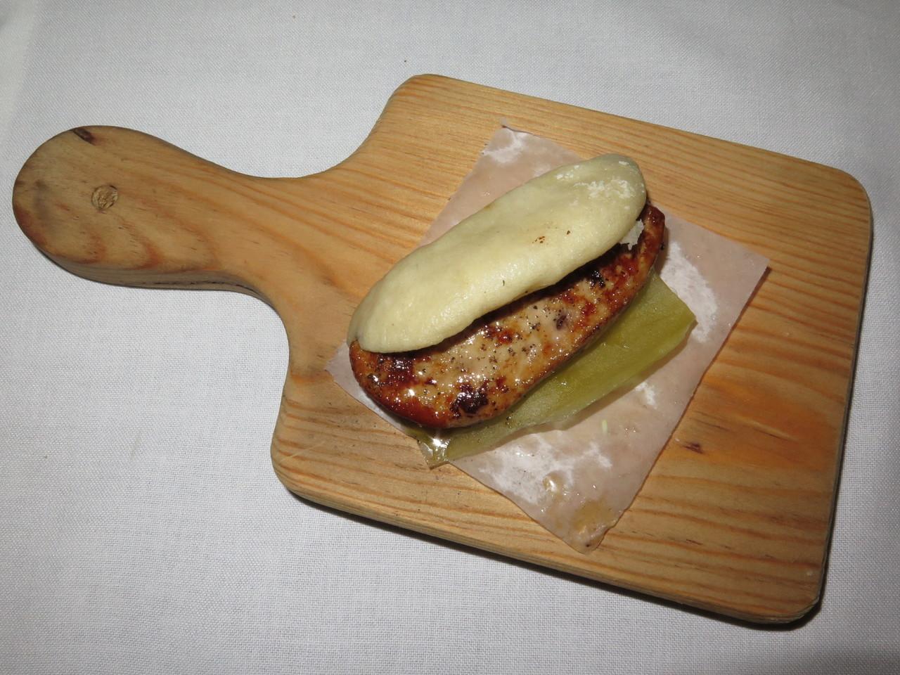 Pão / Foie Gras / Pepino