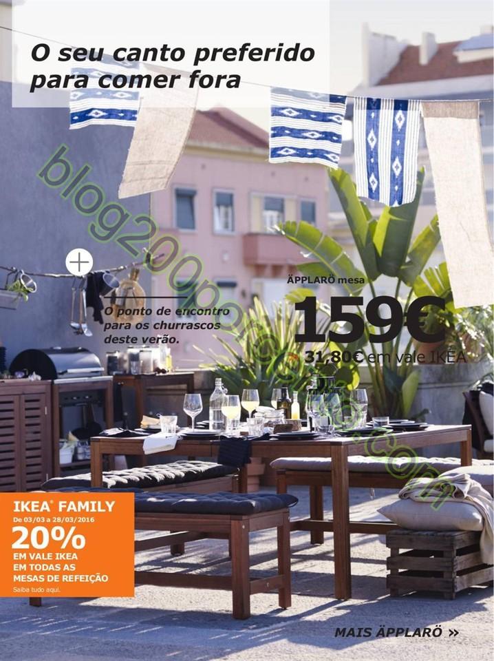 Antevisão Folheto IKEA Promoções de 3 a 28 mar