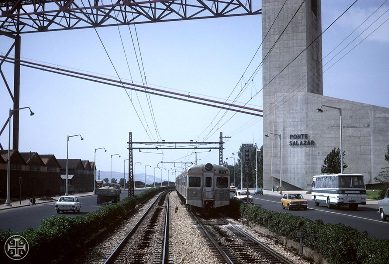 Ponte Salazar, Lisboa (Portimagem, ante 1974)