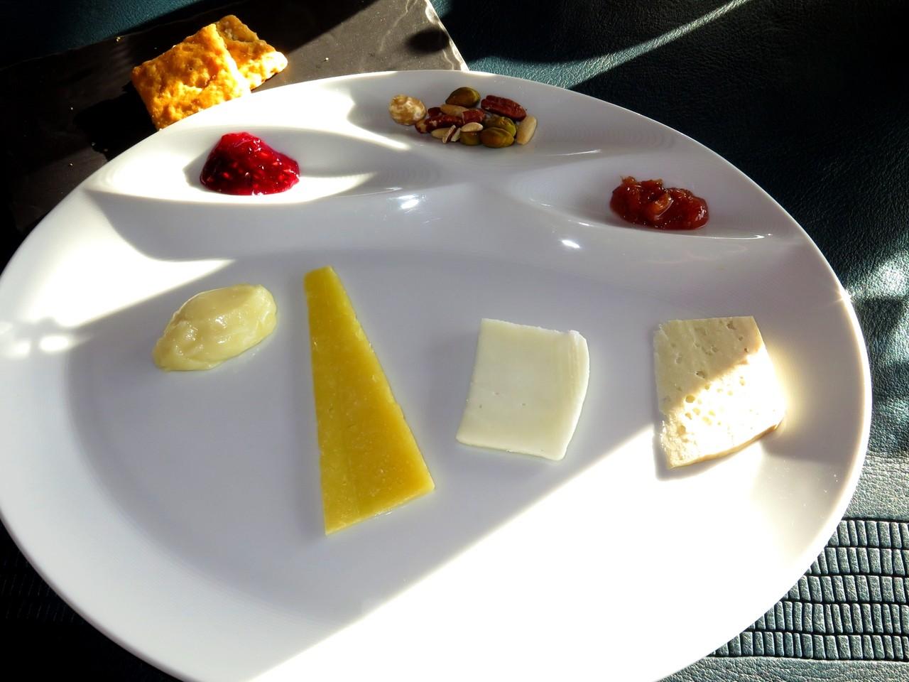 Seleção de queijos nacionais