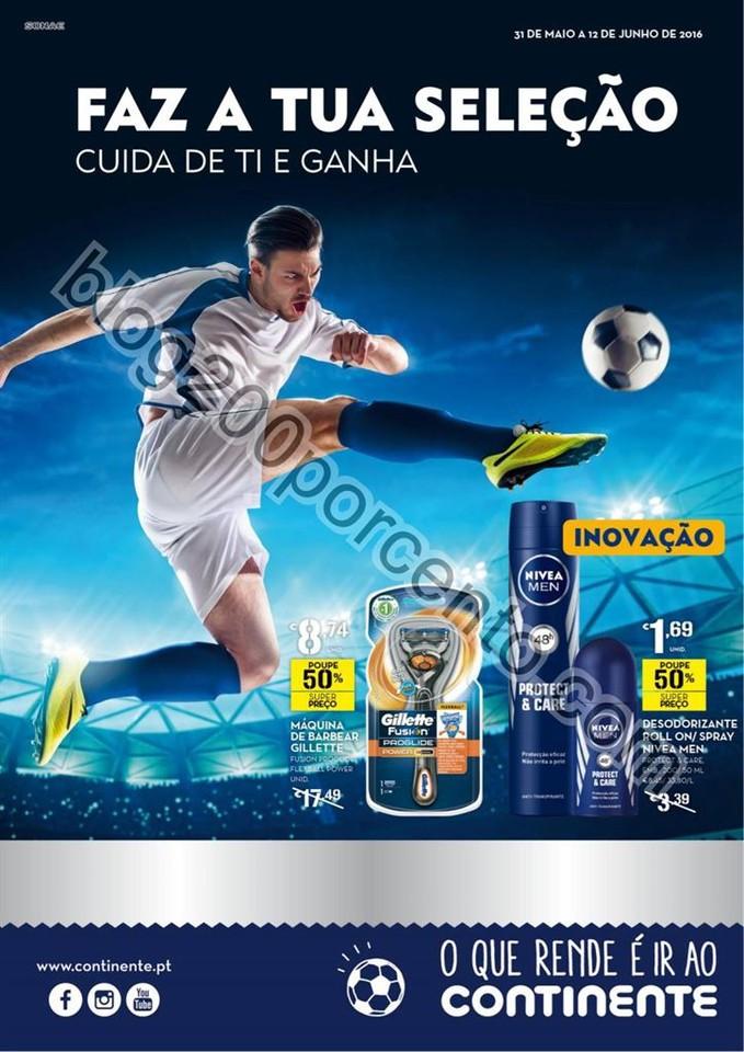 Antevisão Folheto CONTINENTE Higiene promoções