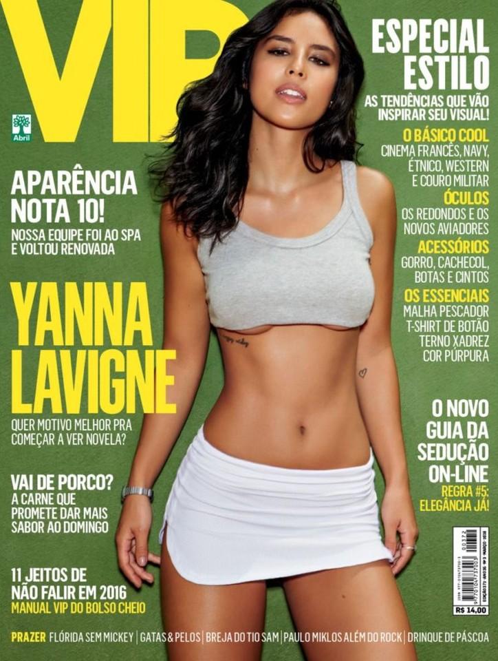 Yanna Lavigne capa
