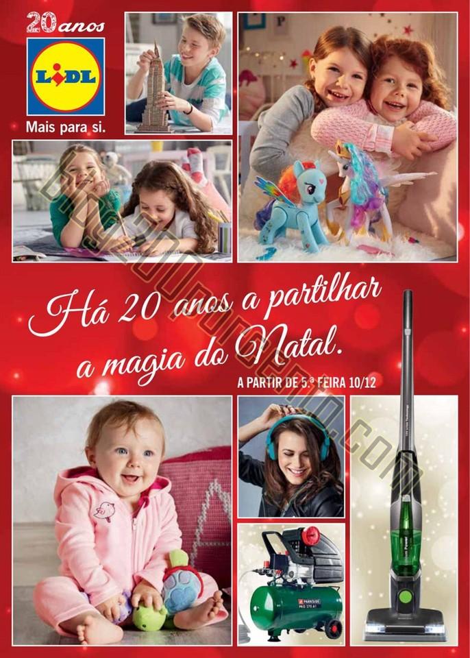 Antevisão Folheto LIDL Extra Natal promoções de