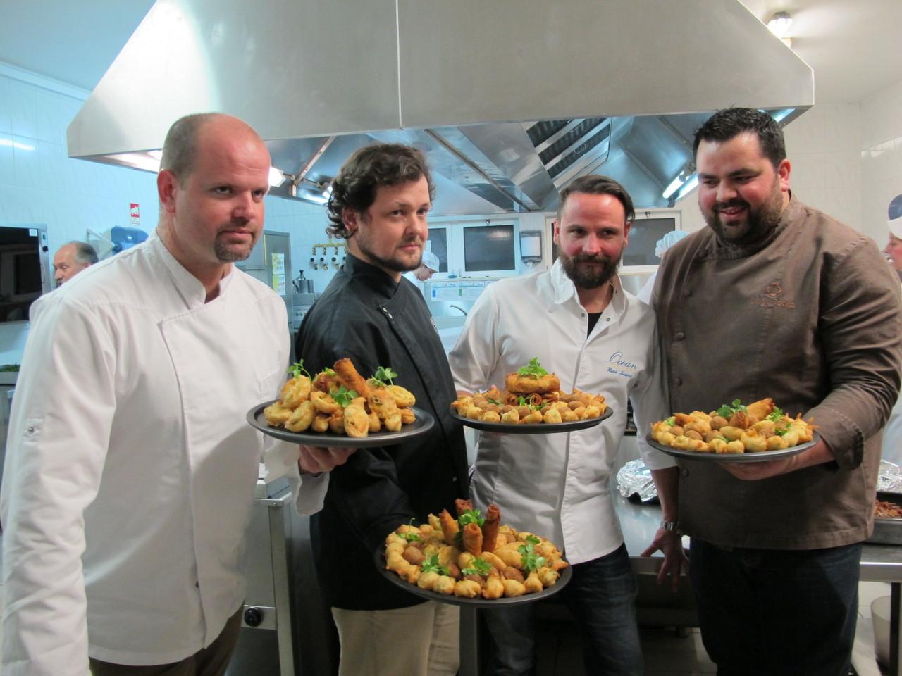 Miguel Laffan, João Rodrigues, Hans Neuner, Diogo Rocha