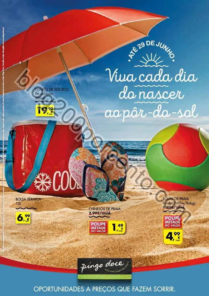 Antevisão Folheto PINGO DOCE Bazar - verão promo