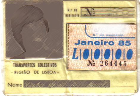 Passo-social (Carris, 1985)